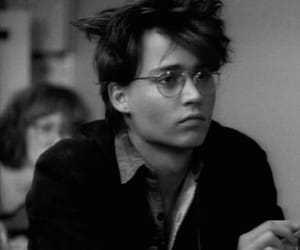 johnny depp, glasses, and young image