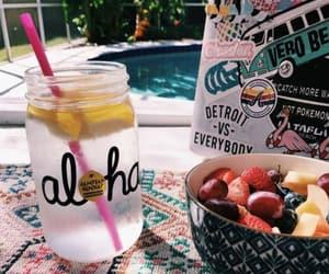 summer, Aloha, and fruit image