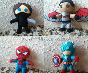 falcon, Marvel, and capitan america image