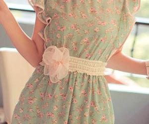 jumpsuit and flower power love image