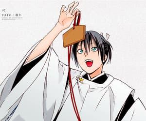 manga, anime boy, and yato image