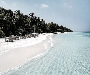 beach, travel, and holiday image