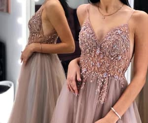 fashion, Prom, and prom dress image