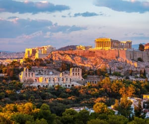 Athens, acropolis, and architecture image