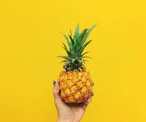 yellow and pineapple image