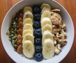 blueberries, breakfast, and fitness image