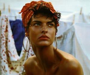 model, beauty, and linda evangelista image