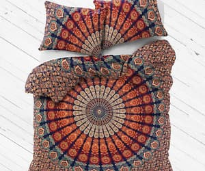 etsy, bohemian bedding, and queen comforter image