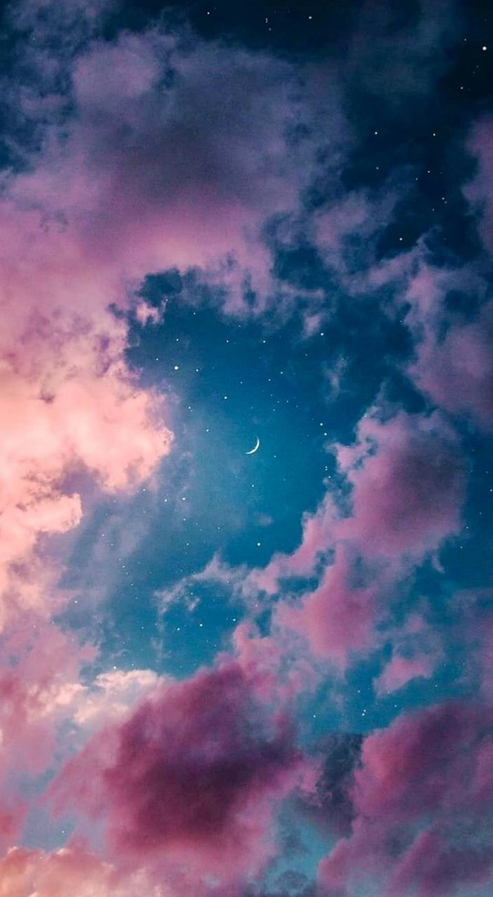 Tumbler moon × Wallpaper × Pink and