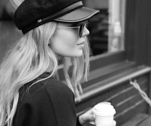 accessories, blonde hair, and coffee image