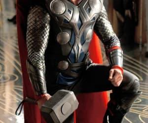 thor, Marvel, and chris hemsworth image