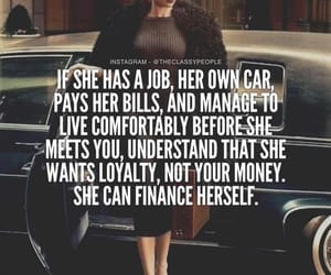 quotes, woman, and job image