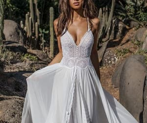 beautiful, dress, and summer image