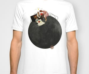 art, t-shirt, and Collage image