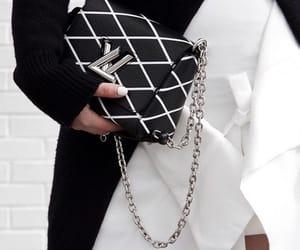 fashion, black, and Louis Vuitton image