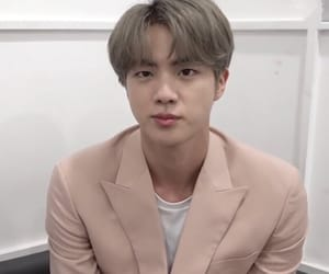 jin, bts, and theme image