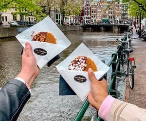 amsterdam, snack, and chocolate image