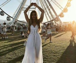 coachella, dress, and summer image