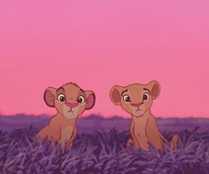 disney, simba, and wallpaper image