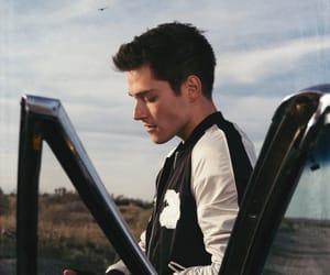 boy, car, and crash image