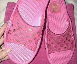 pink, Louis Vuitton, and aesthetic image