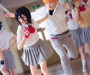 bleach, cosplay, and Ichigo image