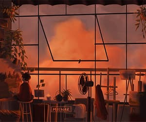 animation, mienar, and art image
