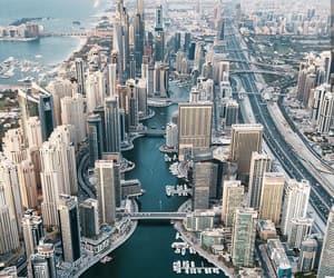 city, Dubai, and photography image