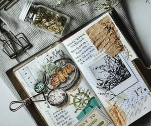 journal and food image