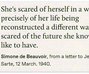 future, scared, and life image