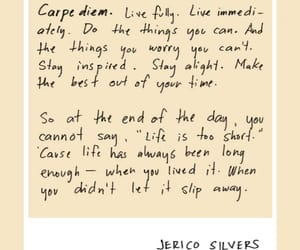 carpe diem, hope, and life image