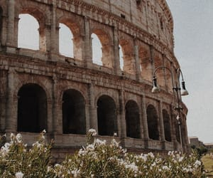 Coliseum, colosseum, and italy image