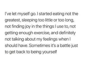 battle, eating, and feelings image