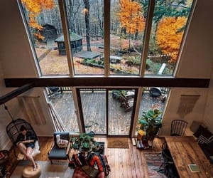 home, interior, and autumn image