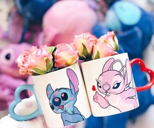 childhood, disney, and flowers image