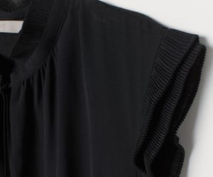 H&M, pleats, and lbd image