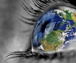 eye, world, and eyes image