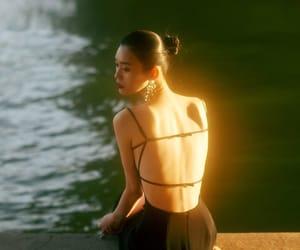 asian, shine, and sunset image