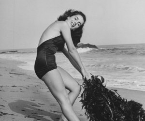 actress, beach, and body image