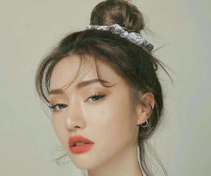 fashion, korean, and makeup image