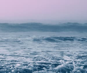 beach, blue, and gif image