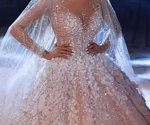 dress, fashion, and vestido image