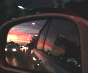 car, gif, and sky image