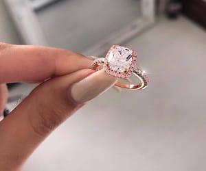 ring, beauty, and diamond image