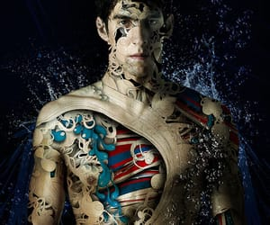 artistic, illustration, and Michael Phelps image