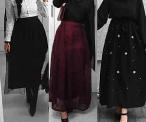 black, Blanc, and burgundy image