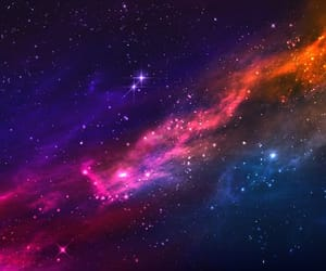 nebula, pink, and pretty image