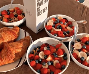 croissant, food, and healthy image