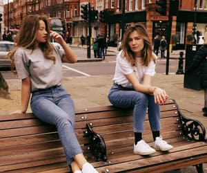 casual, friends, and denim image