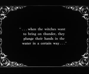 witch, quotes, and black and white image